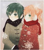 Lightis: KIDS [lost in the snow] by andoriia-chan