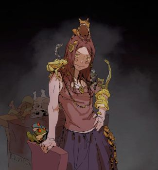 Mildly Venomous by Varguy