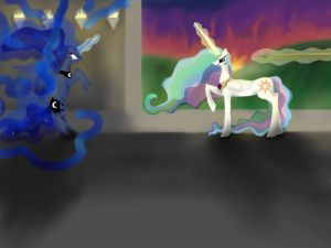 Luna's destruction by kot6