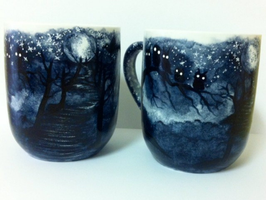 The Dark Trail Coffee Mug by InkyDreamz