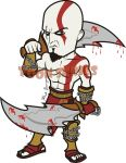 Kratos - God of War by toonseries