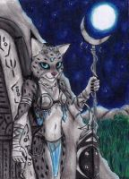 (PINUP WEEK) Moon Priestess by Specter1099
