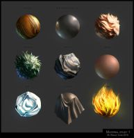 Material study by WesleyChen