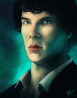 Sherlock by elz-art