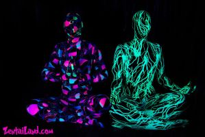 UV reactive zentais VI by ZentaiLand