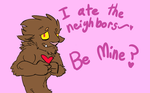 happy werewolf love day :D by ninjaelric