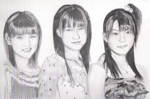 morning musume by summergurl