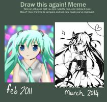 Improvement - Miku by Himechui