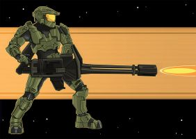 Master Chief by Arnix