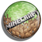 Button Pin - Minecraft by MiakodaTheBright
