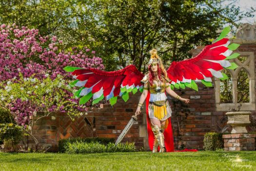 Ho-Oh the Rainbow Pokemon by TerminaCosplay