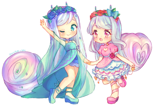 Dancing snails by Pemiin