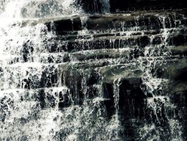 A close-up on the falls by IveDiedInside