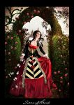 Queen of Hearts Contest entry by DigitalAlchemy-Stock