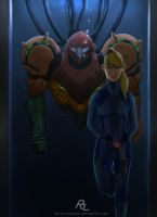 We are One. (Samus Aran with Varia Suit) by RalphyLorenzo