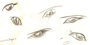 Eyes 2 by bluemaus