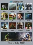 2012 Summary Of Art by EternaLegend