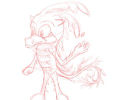 W.I.P Character sketch by Melody-Chaos