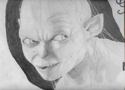 Gollum by jessie145