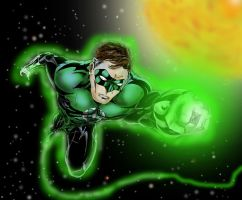 Green Lantern by DETHDEALER31103