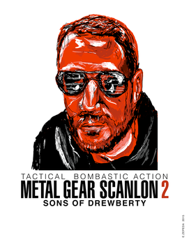 Metal Gear Scanlon 2: Dan by Zleunamme