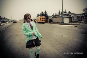 Schools Out ~ Zombies by ashleylawphotography