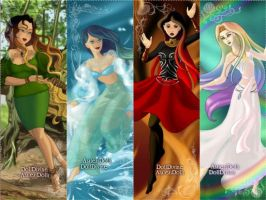 The Four Elements by DeathLife97