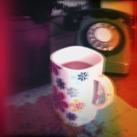 Holga Print 14 - Retro Cup by uselessdesires
