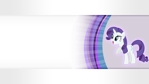 Wallpaper - Rarity is Best Poni by Vetali