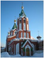 Orthodox Church by DanaAnderson