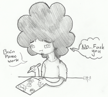 Damn Brain by DeathNugget-Afro