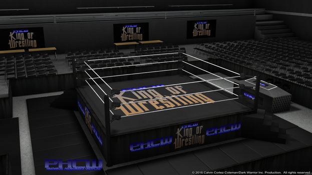 PHCW King of Wrestling Arena HD Concpet. 0006 by KingBearacuda185