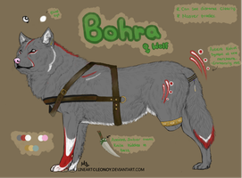 Character Design Auction: Wolf #2 (points) by mocha8