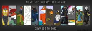 My artistic journey through 2011 by Fox-Superior