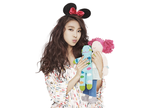 Girl Hairstyle Png : Sistar on kpoprenders deviantart