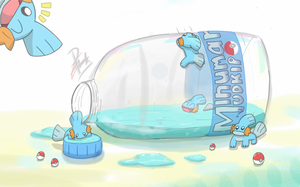 Mudkip Party! by Ppoint555
