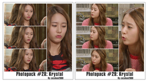 Photopack #28 #29: Krystal by CeCeKen2000