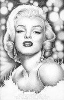 Marilyn Monroe Commission by Nicole-Marie-Walker