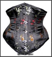 China Brocade Underbust Corset by Stahlrose