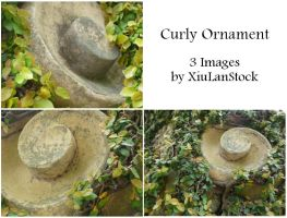 Curly Ornament by XiuLanStock