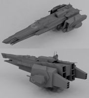 Reliant class Frigate by Jholliday
