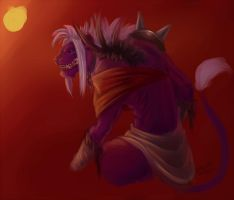 Paint Practice - Gryphon by Taddle