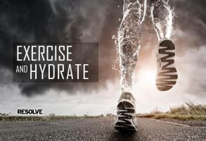 EXERCISE and HYDRATE. by BABA-T