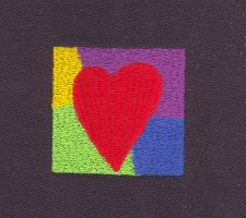 Abstract heart by Photopops