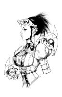 Lady Mechanika 0 print by joebenitez