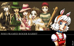 Roger and gang as girls by mikmix