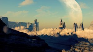 Mountainscape, Everything Created By AlexArtsC4D by AlexArtsC4D