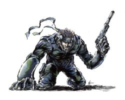 Solid Snake by Substance20