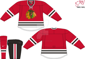 Chicago Blackhawks Road V1 by thepegasus1935