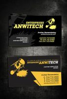 anwitech businesscard by sounddecor